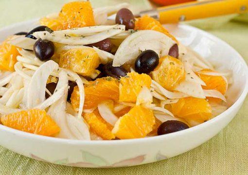 Insalata di arance tradizionale